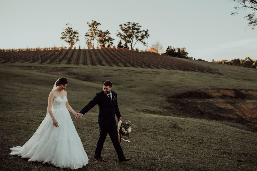 Vineyard wedding in the Yarra Valley - Yarra Ranges Estate