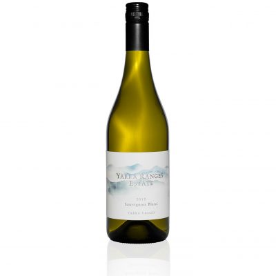 Bottle of wine from the Yarra Ranges Estate 2016 Sauvignon Blanc